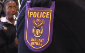 FILE: South African Police Service,warrant officer badge. Picture :Kgothatso Mogale/EWN
