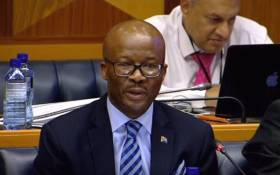 National Treasury's Director-General Dondo Mogajane. Picture: YouTube screengrab.