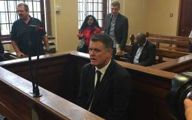 FILE: Jason Rohde in the Stellenbosch Magistrates Court on 27 January 2016. Picture: Petrus Botha/EWN