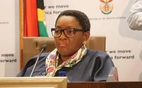 FILE: Social Development Minister Bathabile Dlamini.  Picture: Christa Eybers/EWN.