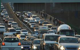 Traffic on Johannesburg roads. Picture: EWN.