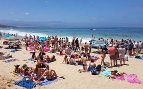 About 4,000 matriculants are attending the annual end-of-year party bash known as Plett Rage. Picture: Twitter/@Plett_Tourism