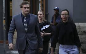 Triple murder accused Henri van Breda enters the Western Cape High Court. Picture: Cindy Archillies/EWN