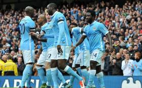 FILE: Manchester City players. Picture: Manchester City Facebook page.