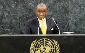 Lesotho Prime Minister Thomas Thabane. Picture: AFP