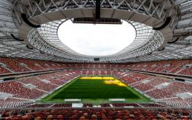 The Luzhniki Stadium in Moscow will host the opening and final matches of the 2018 Fifa World Cup. Picture: @FIFAWorldCup/Twitter