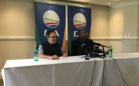 Democratic Alliance leadership held a press briefing on a number of issues on Saturday 17 March 2018. Picture: Hitekani Magwedze/EWN