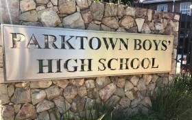 Parktown Boys High School. Picture: Kgothatso Mogale/EWN.