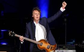 Musician Paul McCartney performs during Desert Trip at the Empire Polo Field on 15 October 2016 in Indio, California. Picture: Getty Images/AFP.