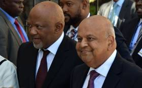 FILE: Mcebisi Jonas and Pravin Gordhan. Picture: GCIS.