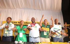 The newly elected ANC Free State top five leadership. Picture: @ANCFS /Twitter