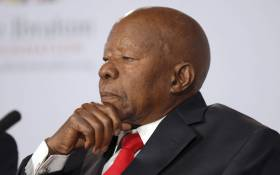 Former president of Botswana, Sir Ketumile Masire. Picture: AFP.