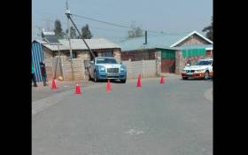 A Rolls Royce stolen from a workshop at The Glen found in Riverlea. Picture: Intelligence Bureau SA on Facebook.