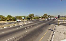 Jakes Gerwel Drive at the Mitchells Plain intersection. Picture: Google Earth.