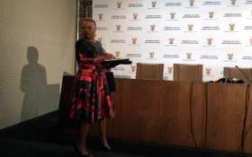 Small Business Development Minister Lindiwe Zul. Picture: @SAgovnews/Twitter