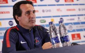 Paris St Germain manager Unai Emery. Picture: @PSG_English/Twitter