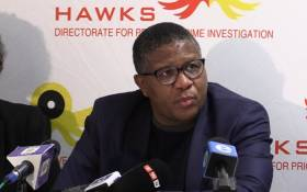 FILE: This undated photo shows Police Minister Fikile Mbalula at the OR Tambo International Airport. Picture: Kgothatso Mogale/EWN