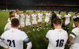 The England rugby team after their defeat to the Springboks on 16 June 2018 in Bloemfontein. Picture: @EnglandRugby/Twitter