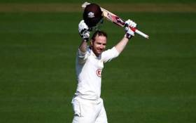 Opening batsman Mark Stoneman has been selected to make his debut for England in their first day-night test match against the West Indies. Picture: Twitter/@mark23stone.