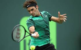 Roger Federer. Picture: @MiamiOpen