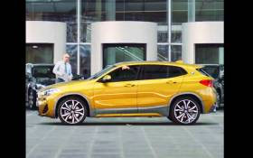The BMW X2. Picture: Screengrab BMW SA Facebook.