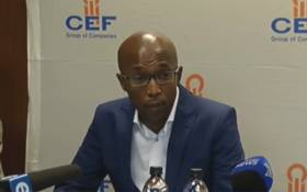 FILE: Chairperson of the Central Energy Fund Luvo Makasi. Picture: Screengrab.