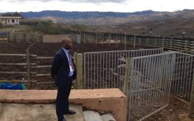A group of about 30 journalists has been taken on a guided tour through President Jacob Zuma's Nkandla homestead on 26 July 2015. Picture: Vumani Mkhize/EWN.