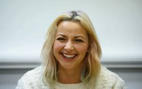 Singer and political activist Charlotte Church. Picture: AFP.