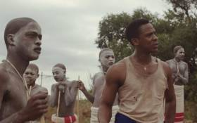 A screengrab depicting one of the scenes from the controversial local film, 'Inxeba: The Wound'.