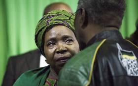 FILE: African National Congress (ANC) presidential nominee Nkosazana Dlamini Zuma on 5 December 2017. Picture: Sthembiso Zulu/EWN