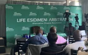 FILE: The Life Esidimeni arbitration hearing sitting in Parktown, Johannesburg. Picture: Masego Rahlaga/EWN.