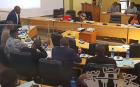 A Ditsobotla Municipality council meeting. Picture: Ditsobotla Local Municipality Facebook page