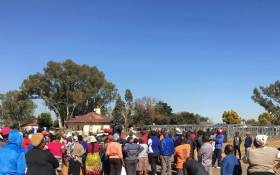 DA councillors visited community members who were promised homes in the Ekurhuleni area on 23 May 2018. Picture: Katleho Sekhotho/EWN.