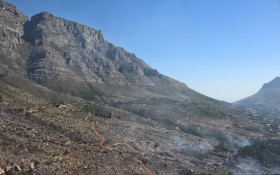 [PHOTOS] Jaw-dropping aerial views of Table Mountain and UCT fire damage