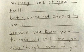 6-year-old Emma, explaining what love is, pulls at the heartstrings
