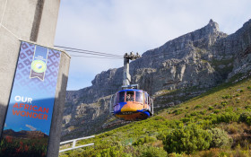 Table Mountain Cableway celebrating birthday month with reduced rates