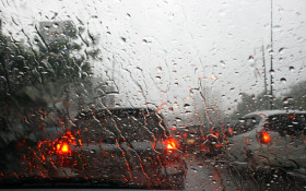 [WATCH] Motorists using makeshift wipers while it rains has us talking