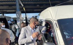 WC Transport MEC visits Khayelitsha taxi rank to encourage COVID-19 compliance