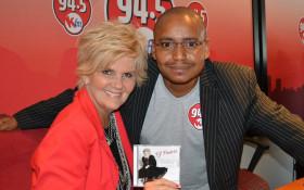 PJ Powers visits 94.5 KFM Drive show