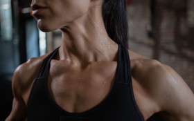 Shrug more because shoulder shrugs are exercise