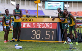 SA wins men's 4X100m gold in record time at World Athletics U20 Champs