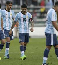 Bolivia beat Messi-less Argentina 2-0 in qualifier