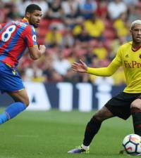 Zaha denied penalty shouts as Watford and Palace share point