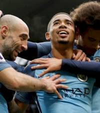 Gabriel Jesus header gives City 2-2 draw at Middlesbrough