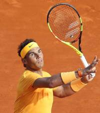 Nadal edges Zverev to win Italian Open in rainy Rome