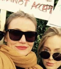 Adele, Cameron Diaz & Jennifer Lawrence unite at Women's March