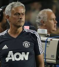 Mourinho satisfied with United's progress despite Barca loss