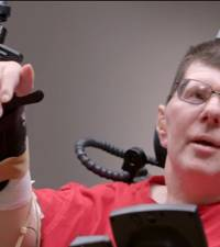 Research teams gets paralysed man to feed himself using his thoughts