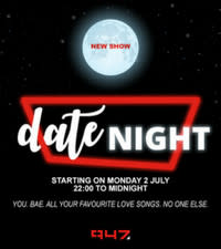 [UPDATE] 947 launches a new show 'Date Night'