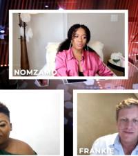 Anele, Frankie talk Coming to America 2 with Nomzamo Mbatha and Laduma (MAXHOSA)